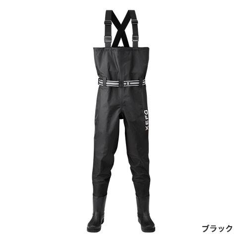 シマノ ゼフォー (XEFO) マックスデュラウェーダー WA-251Q ブラック LLサイズ (送料無料) (S01) (O01)