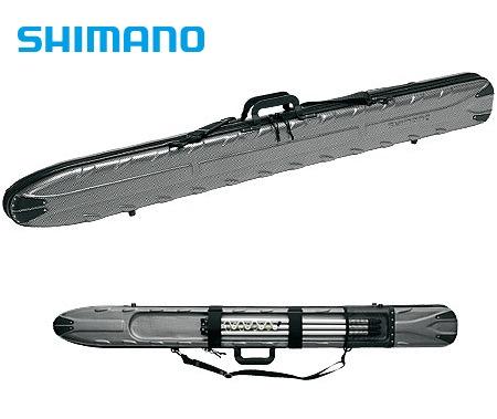 シマノ TOUGH&WASH ロッドケース RC-072H カーボンブラック 160S (大型商品 代引不可)(S01) (O01)