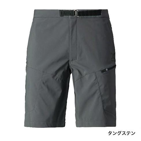 シマノ XEFO (ゼフォー) ゴア ウィンドストッパーショーツ PA-242R タングステン XL(LL)サイズ (S01) (O01) (送料無料)