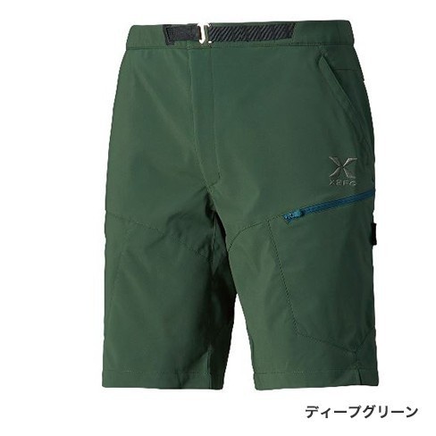 シマノ XEFO (ゼフォー) ゴア ウィンドストッパーショーツ PA-242R ディープグリーン Lサイズ (S01) (O01) (送料無料)
