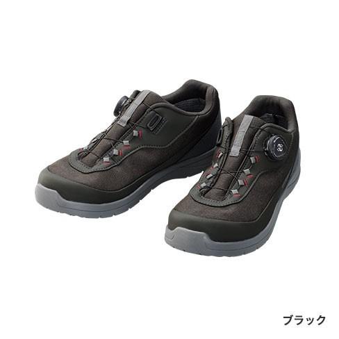 シマノ ドライシールド デッキラジアルフィットシューズ LW FS-081Q ブラック 27cm (送料無料) (S01) (O01)