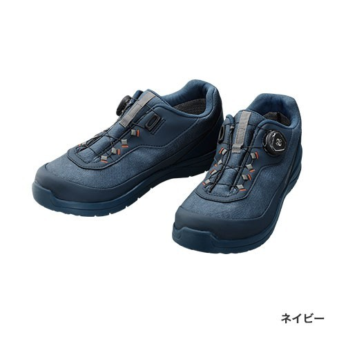 シマノ ドライシールド デッキラジアルフィットシューズ LW FS-081Q ネイビー 26.5cm (送料無料) (S01) (O01)