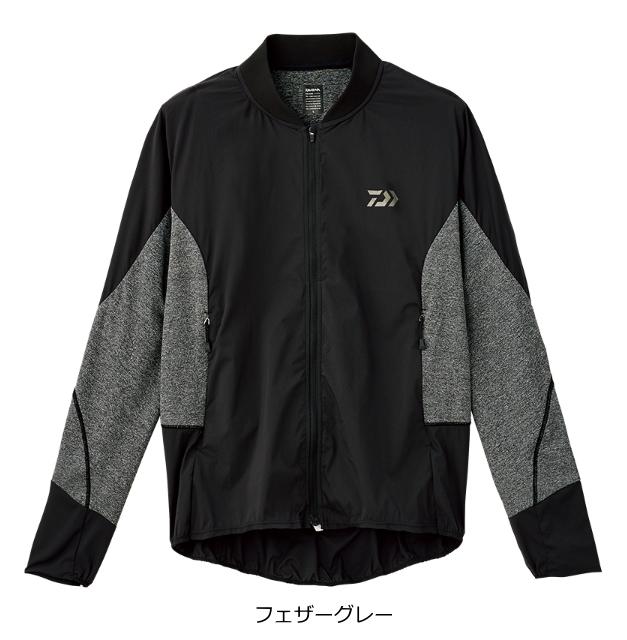 ダイワ ストレッチハイブリッドジャケット DJ-35008 フェザーグレー 3XL(4L)サイズ (送料無料) (O01) (D01)