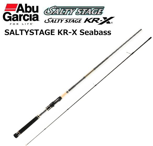 アブ ガルシア ソルティーステージ KR-X シーバス SXSS-862L-KR (スピニング) / シーバスロッド (セール対象商品)