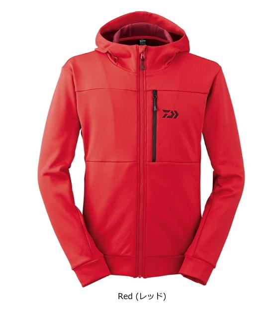 ダイワ ストレッチフリースジャケット DE-2407J Red(レッド) 3XL(4L)サイズ (送料無料) (O01) (D01)