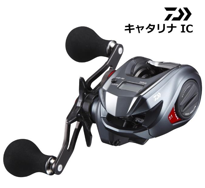 ダイワ キャタリナ IC 100SH (右ハンドル) / ベイトリール (送料無料)