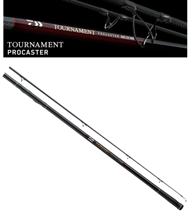 ダイワ トーナメント プロキャスター 30号-405S / 投げ竿 (大型商品 代引不可) (O01) (D01)