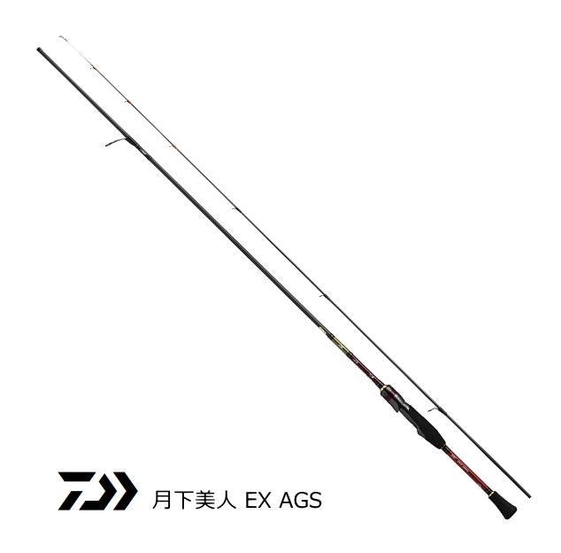 ダイワ 18 月下美人 EX AGS 610LS-SMT・E / メバリングロッド (O01) (D01) (セール対象商品)