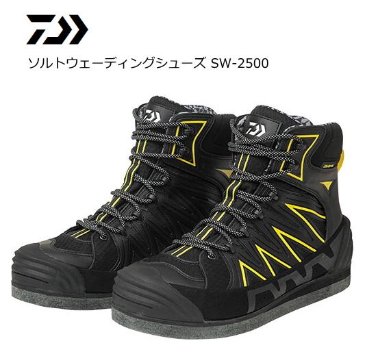 ダイワ ソルトウェーディングシューズ SW-2500 ブラック 28cm (O01) (D01) (送料無料)