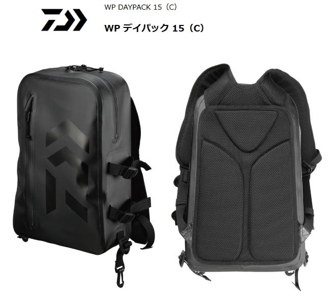 ダイワ WP デイパック 15 (C) ブラック / バッグ (O01) (D01)