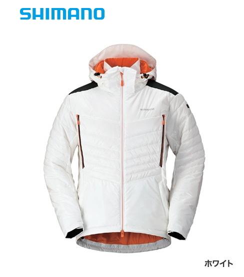 シマノ SP エクストラインシュレーションジャケット JA-091Q ホワイト XL(LL)サイズ / 防寒着 防寒ウェア (送料無料) (S01) / セール対象商品 (8/5(月)12:59まで)