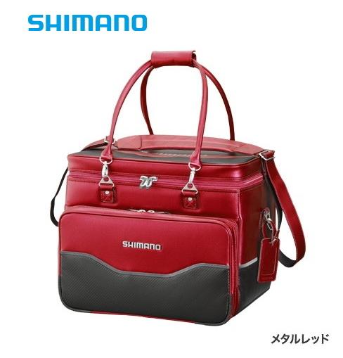 シマノ へらバッグXT BA-012Q メタルレッド 40L / へらぶな用品 (S01)