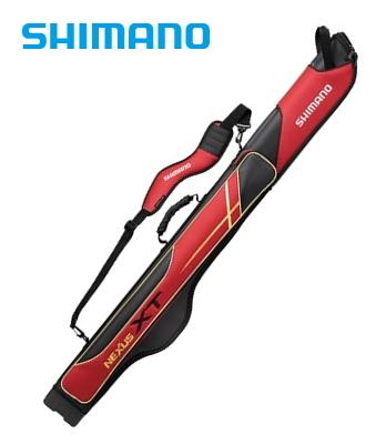 シマノ ロッドケース XT スリム RC-125R レッド 125R (S01) (O01) (大型商品 代引不可)