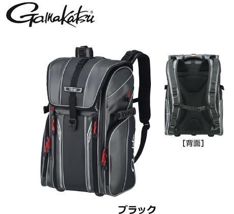 がまかつ サーフデイバッグ GB-384 ブラック Lサイズ / フィッシングバッグ (送料無料)