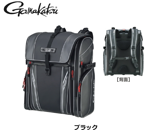がまかつ サーフデイバッグ GB-384 ブラック LLサイズ / フィッシングバッグ (送料無料)