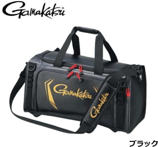 がまかつ タックルボストンバッグ GB-355 ブラック Lサイズ / バッグ (送料無料) / 5月上旬頃入荷予定 先行予約受付中