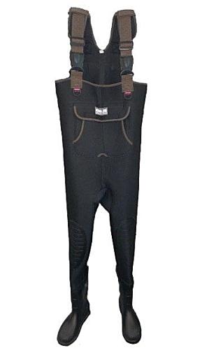 エクセル ネオプレーン ウェダー OH-8700 Mサイズ ブラック / 胴付長靴 (送料無料) (O01)