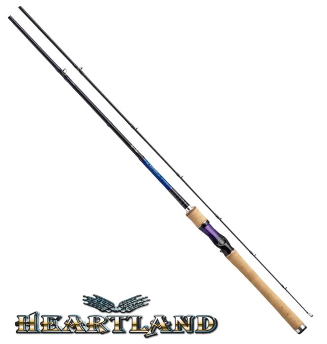 ダイワ ハートランド (ベイトモデル) 651M/MHRB-RR17 / バスロッド (O01) (D01) (SP) (大型商品 代引不可)