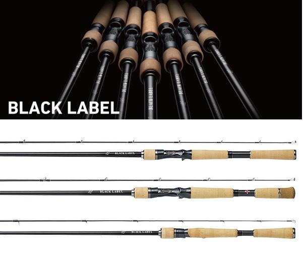 ダイワ ブラックレーベル LG (ベイトモデル) 6101MLFB / バスロッド (O01) (D01) (大型商品 代引不可)