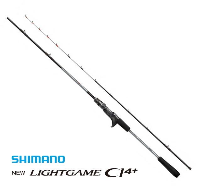 シマノ 19 ライトゲーム CI4+ TYPE64 M205 LEFT / 船竿 (O01) (S01) (セール対象商品)