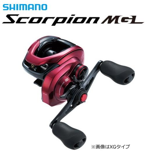 シマノ 19 スコーピオン MGL 151XG (左ハンドル) / ベイトリール (送料無料) / 4月中旬~下旬頃入荷予定 先行予約受付中
