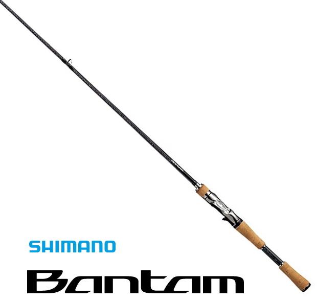 シマノ バンタム (Bantam) (ベイトモデル) 177XH / バスロッド (O01) (S01) (SP) (大型商品 代引不可)