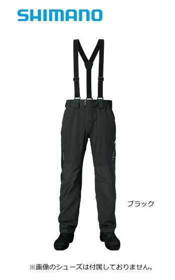シマノ ゼフォー (XEFO) デュラストレインパンツ RA-22PS ブラック 3XL(4L)サイズ (送料無料) (S01) (O01)