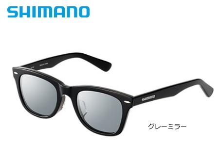 シマノ バルバロス ウェリントンタイプ LU-101S グレーミラー / 偏光サングラス (S01) (O01) (送料無料)