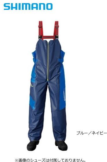 シマノ マリンサロペット RA-03PN ブルー/ネイビー XL(LL)サイズ / レインウェア (送料無料) / セール対象商品 (8/5(月)12:59まで)