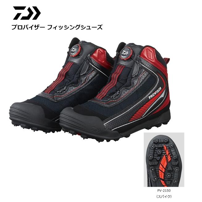 ダイワ プロバイザー フィッシングシューズ PV-2150 ブラック 25.0cm (送料無料) (O01) (D01)