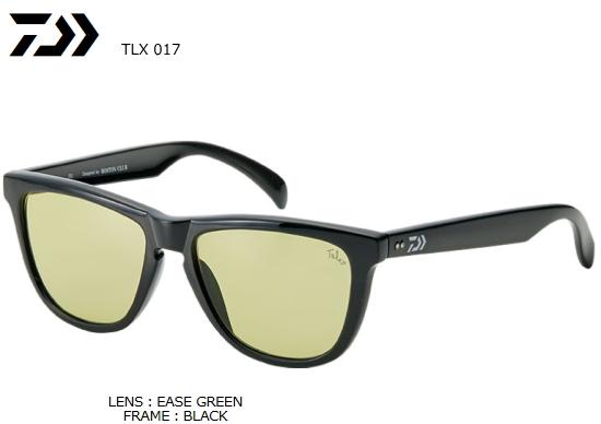 ダイワ TLQ 017 タレックス 偏光グラス EASE GREEN (イーズグリーン) (O01) (D01) (送料無料)