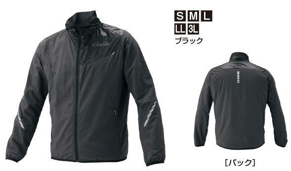 がまかつ NO FLY ZONE(R) ウィンドジャケット GM-3562 ブラック Lサイズ (お取り寄せ商品) / セール対象商品 (12/26(木)12:59まで)