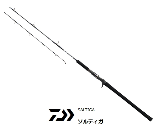 ダイワ ソルティガ J61MLB・J (ベイトモデル) (O01) (D01) (セール対象商品)