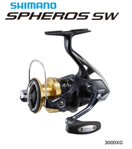 シマノ 19 スフェロス SW 3000XG / スピニングリール (S01) (O01) (セール対象商品)