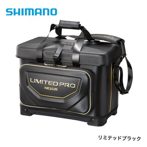 シマノ 磯クール リミテッドプロ BA-112S リミテッドブラック 25L / 磯バッグ (S01) (O01) 【送料無料】 【セール対象商品】