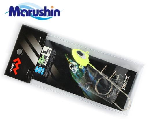 マルシン漁具 タチウオダートテンヤ 1本針タイプ グロー 30g (Lサイズ) / タチウオテンヤ (メール便可) / セール対象商品 2日(月) 12:59まで