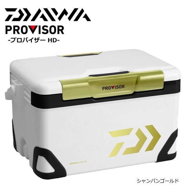 ダイワ プロバイザー HD ZSS 2100X シャンパンゴールド / クーラーボックス