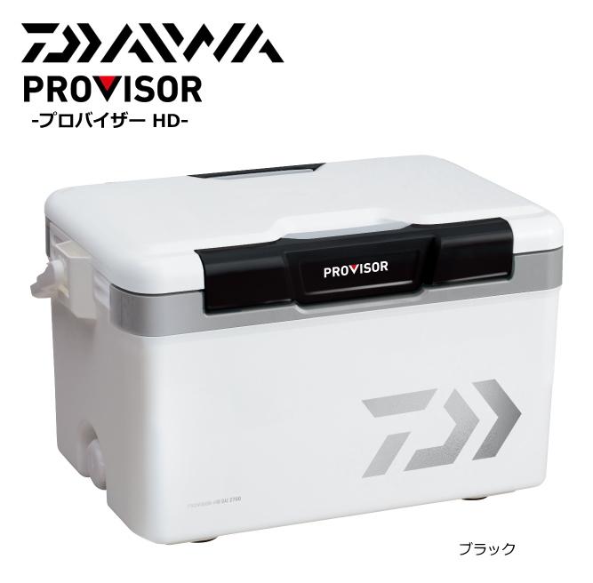 ダイワ プロバイザー HD GU 2700 ブラック / クーラーボックス(お取り寄せ商品)