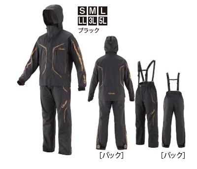 がまかつ ゴアテックス (R) オールウェザースーツ GM-3611 ブラック Mサイズ / レインウェア (お取り寄せ商品) 【送料無料】 (セール対象商品)