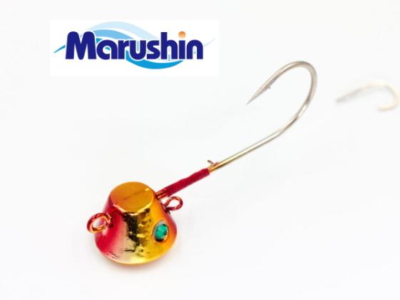 期間限定割引セール開催中 9 13 月 12:59まで ついに入荷 マルシン漁具 TRD一つテンヤ 鯛ラバ メール便発送 タイラバ セール対象商品 レッドゴールド 新入荷 流行 3号