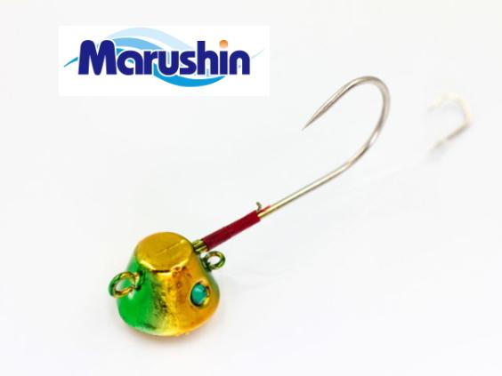 マルシン漁具 TRD一つテンヤ グリーンゴールド 8号 / 鯛ラバ タイラバ (メール便可) / セール対象商品 2日(月) 12:59まで
