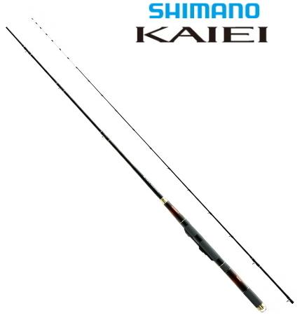 シマノ KAIEI (カイエイ) 攻調子 165 / カセ 筏竿 (S01) (O01) (セール対象商品)