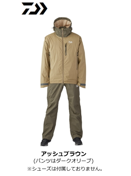 ダイワ レインマックス(R) レインスーツ DR-33020 アッシュブラウン Mサイズ / レインウェア 【送料無料】