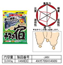 マルキュー  チヌの宿 1箱 (8袋入り)  (お取り寄せ商品) [表示金額+送料別途]
