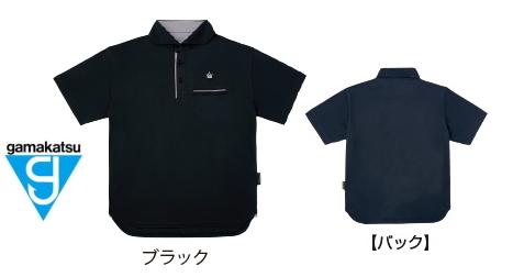 がまかつ ポロシャツ (クラウンエディション) GM-3635 ブラック 5Lサイズ / ウェア (お取り寄せ商品) 【送料無料】 (セール対象商品)