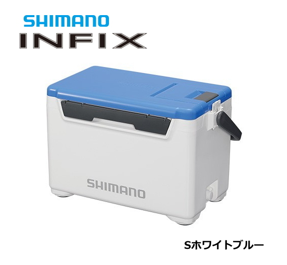シマノ インフィクス ベイシス 270 UI-027Q Sホワイトブルー / クーラーボックス (セール対象商品)
