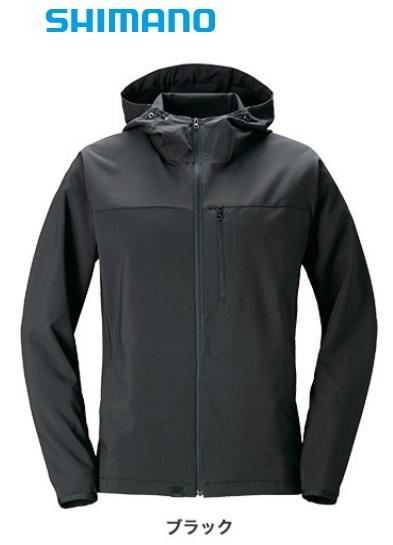 シマノ SSジャケット WJ-048T ブラック 2XL(3L)サイズ / ウェア (O01) (S01) (セール対象商品)