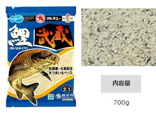 マルキュー 鯉武蔵 (こいむさし) 1箱(25袋入り) (表示金額+送料別途) (お取り寄せ商品) (セール対象商品)