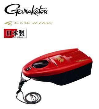 がまかつ 鮎舟ジャイロジェット650 GM-9866 ファイヤーDレッド / 鮎友釣り用品 (送料無料)(お取り寄せ商品)