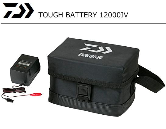 (数量限定セール) ダイワ タフバッテリー 12000 IV / 電動リール バッテリー